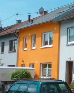 Reihenhaus Klimahaus Karlsruhe